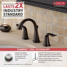 Pex To Faucet Connection 3538 Rbmpu Dst Two Handle Widespread Lavatory Faucet