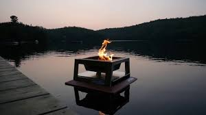 Floating Fire Pit by Floating Fire Pit Youtube