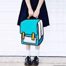 jumpfrompaper 2 d bags make you look like a cartoon huffpost