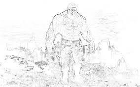 the incredible hulk coloring pages wallpaperxy com cartoon