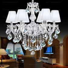 Chandeliers With Shades And Crystals by Light Shade Crystal Large Contemporary Chandeliers For Living Room