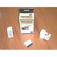 Magnetic Mini Blind Magne Blind Magne Brackets White Fits 1