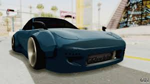 rocket bunny rx7 mazda rx 7 fd3s rocket bunny v2 for gta san andreas