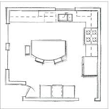kitchen plans with islands kitchen floor plans with island altmine co