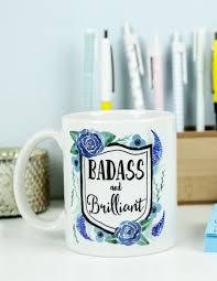 badass and brilliant coffee mug unique gifts shop colorful gifts