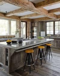 Rustic Kitchens Designs Kitchen Industrial Rustic Kitchen With Wood Accents 20 Vintage