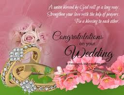 wedding congrats message wedding wishes and messages 365greetings