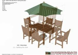 gt100 u2013 garden teak table woodworking plans u2013 outdoor furniture