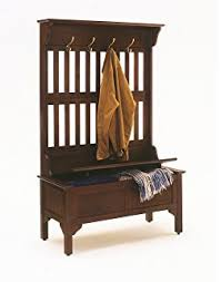 amazon com southern enterprises hall tree entryway bench mission
