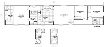 Mobile Home Floor Plans Single Wide Singlewide Homes