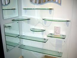 Glass Shelving For Bathrooms How To Refine A Room With Glass Shelves Glass Shelves