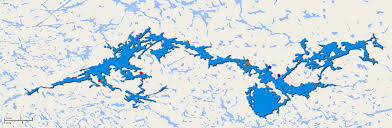Lake Vermilion Map The 30 Largest Fishing Outpost Lakes In Ontario Line On Fishing