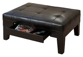 amazon com best selling chatham leather storage ottoman black