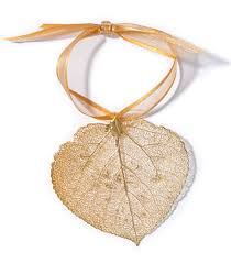 leaf lace ornament