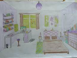 comment dessiner une chambre en perspective chambre en perspective dessin perspective comment dessiner une