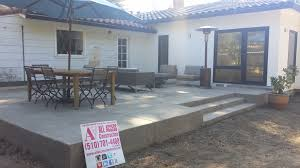 Building A Raised Patio Raise Concrete Patio Orinda All Access Constructionall Access