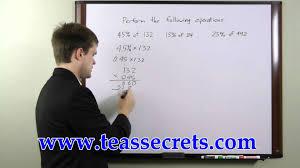 teas test practice free teas math tips youtube