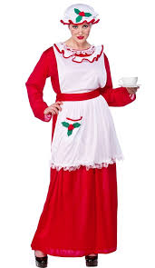 mrs claus costumes mrs santa claus costume xm4526 plus size fancy dress plus size