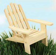Unfinished Wood Chairs Small Unfinished Wood Adirondack Chair Doll Accessories Doll