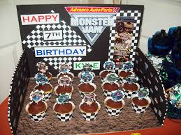 monster truck jam party supplies monster jam cupcakes kids birthday parties