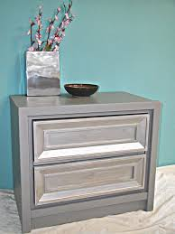 Silver Nightstands Nightstands Awesome Modern Silver Nightstands Design Enchanting