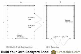 floor plans for sheds 12x10 shed plans 12x10 backyard shed plans icreatables