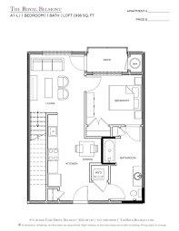 floor plans the royal belmont