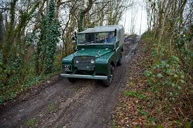land rover 110 off road mud buddies driving a 1949 land rover series 1 and defender off