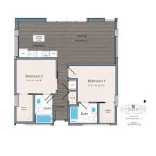 Waterfront Floor Plans Studio One U0026 Two Bed Sw D C Apartments Lex At Waterfront Station