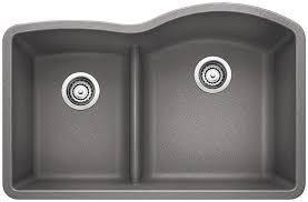 Blanco Diamond Reverse Bowl Kitchen Sink  Reviews Wayfair - Bowl kitchen sink