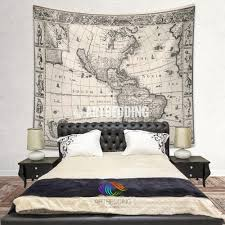 United States Map Wall Art by Ancient World Map Wall Tapestry Vintage World Map Wall Hanging