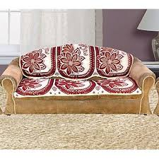 sofa cover vivek homesaaz 5 seater poly cotton set of 10 sofa cover set buy