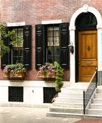 Traditional Exterior Doors Philadelphia Box Window Entry Traditional With Exterior Wooden