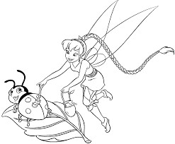 tinker bell coloring pages for girls coloring pages