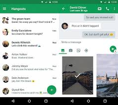 hangouts app android hangouts will let you reply to messages without opening the