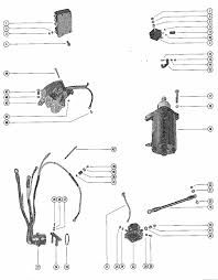 mercury marine 500 starter motor starter solenoid rectifier