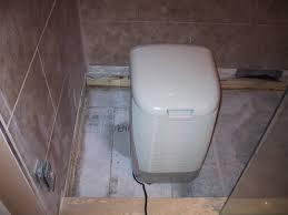 basement ceiling leak u2013 part 14 u2013 commencing the new shower floor