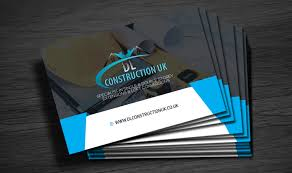 Business Card For Construction Company Business Cards For Building Company Dl Construction Uk Ltd