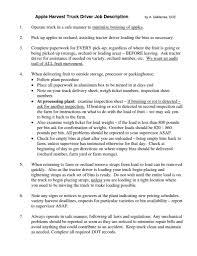 Forklift Duties Resume Forklift Description Free Resume Builder With Free Download