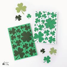 diy st patricks u0027 day card