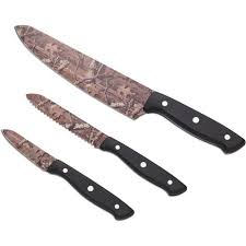 walmart kitchen knives mossy oak 3 chef knife set walmart com