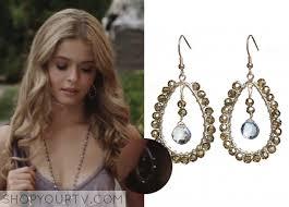 pretty liars earrings pretty liars season 2 episode 13 alison s beaded dangle