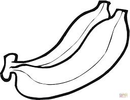 banana coloring page bananas coloring pages free coloring pages