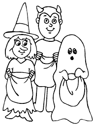 print halloween coloring pages trick or treat or download