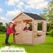 Comment Fabriquer Une Maison En Bois Maison Enfant Couleur Garden