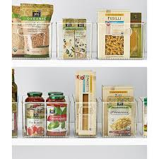 Organizing Kitchen Pantry - linus pantry binz the container store