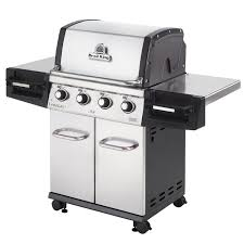 broil king regal s420 pro 4 burner freestanding propane gas grill