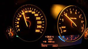 bmw speedometer timelapse bmw f30 speedometer