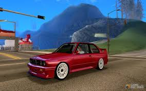 Bmw M3 E30 - m3 e30 for gta san andreas