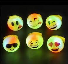 led light up rings 100 wholesale led light up flashing emoji rings emoticon jelly ring